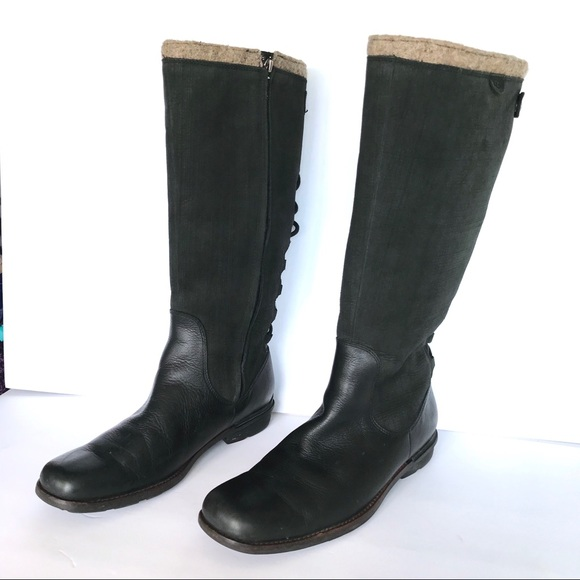 b21193da8c6 UGG Smithfield Tall Knee Boots Leather size 11